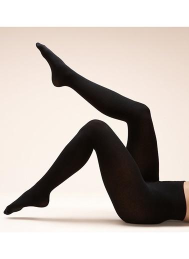 Marks & Spencer 100 Denye Termal Külotlu Çorap Siyah